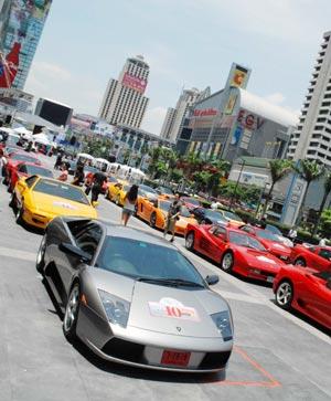 Thailand Super Car Rally