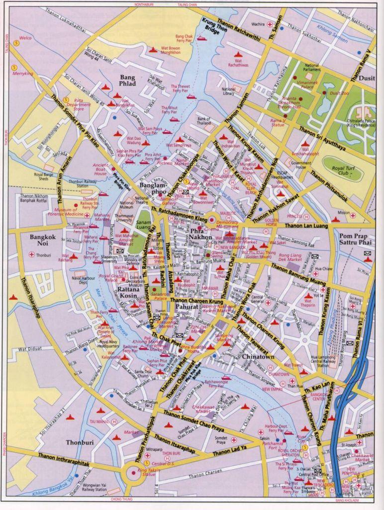 Bangkok Maps - TeakDoor.com - The Thailand Forum