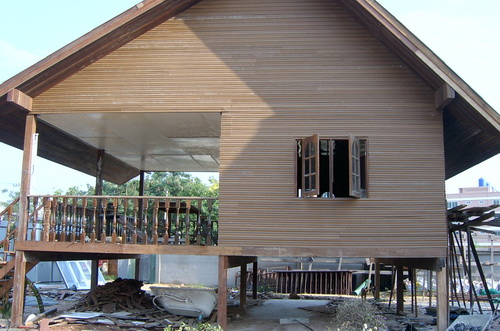 cheap thai house build