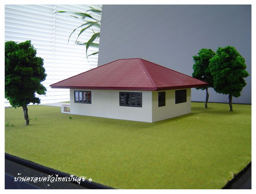 Thai house plans 500 000baht house for Cheap house plans designs