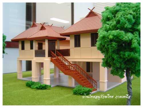 Modern thai style house plans home design and style for Thai style home designs