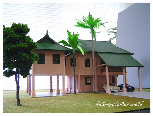 Thai house plans nice 2 story thai style house for Thai style house plans