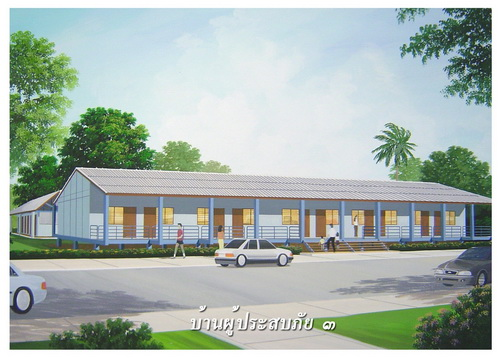 Architect plans thai rental units Rental house plans