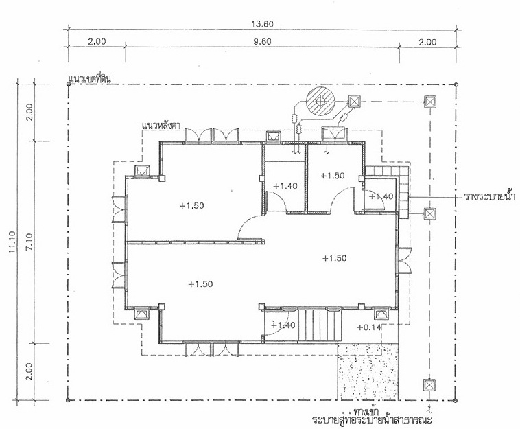 thai house plans compact 1 bedroom the thailand