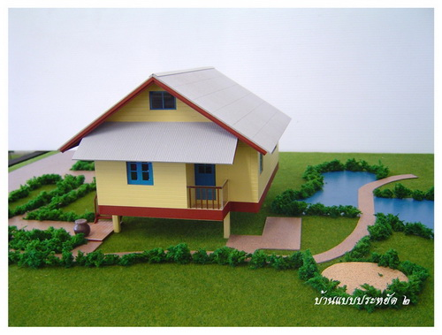 thai house plans compact 1 bedroom the