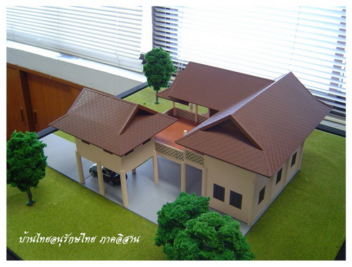 Thai house plans thai style 3 bedrooms for Thai style home designs