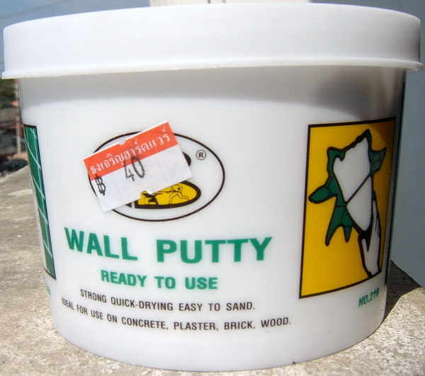 Wall filler plaster