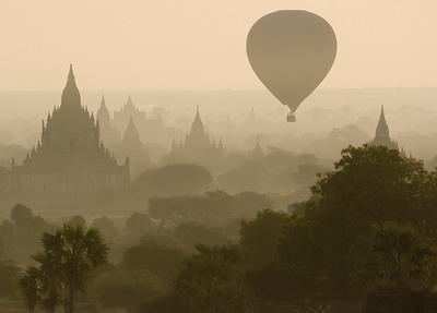 Cambodia Balloon Ride