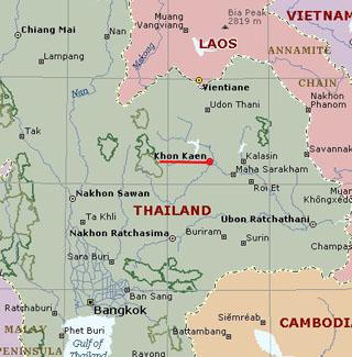 Khon Kaen Maps Teakdoor Com The Thailand Forum
