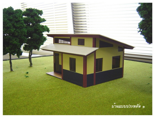 Thai House Plans Tiny 2 Bed House