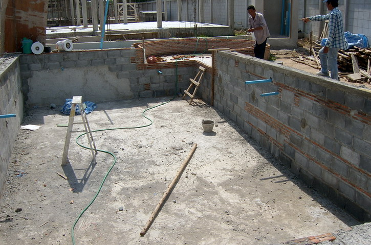 Building your own swimming pool in thailand page 2 for Build your own swimming pool