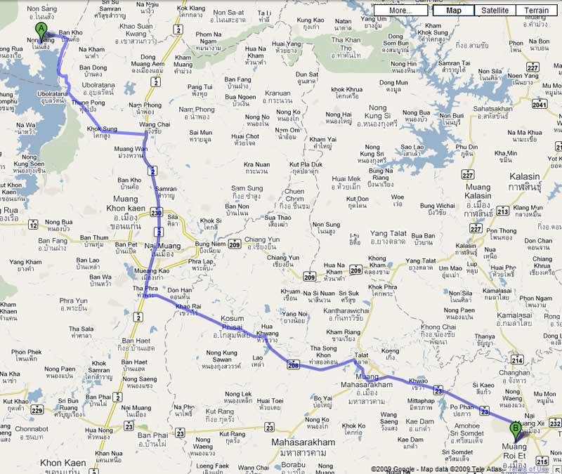 Roi Et Thailand  city photos : Planning a 'Tour de Isaan' TeakDoor.com The Thailand Forum