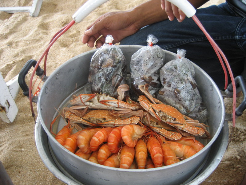 how to cook blue swimmer crab on bbq