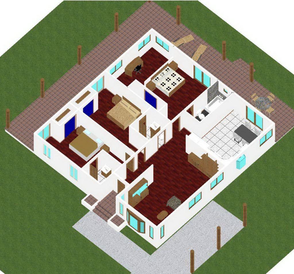 200 square meters house plan house plans - Square meter garden design ideas ...