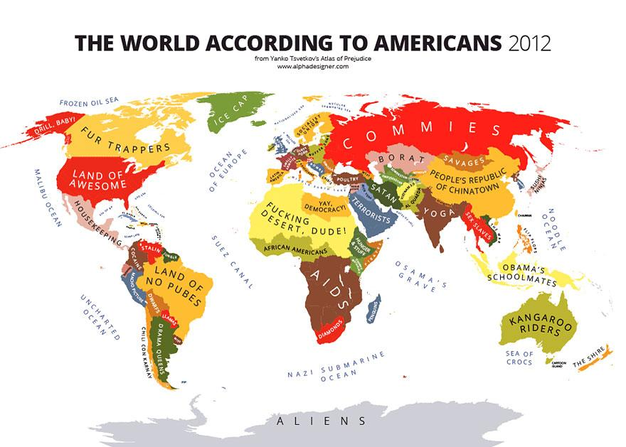 How the mercator map creates size misconceptions gumiabroncs Choice Image
