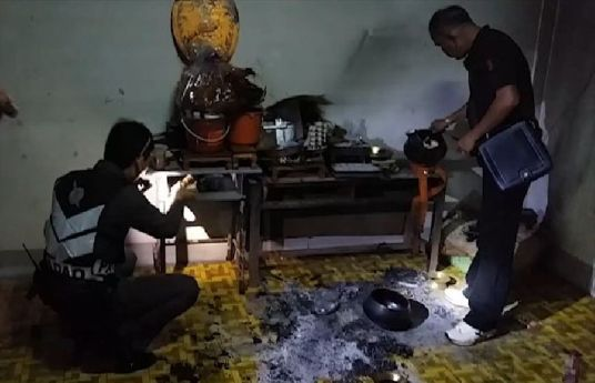 Novice Attempts to Burn Down Monastery on First Day