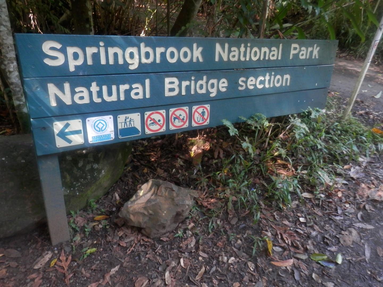 TRAVEL - QLD - NSW ... Back of the Gold Coast - Natural Bridge-p4032774-large-jpg