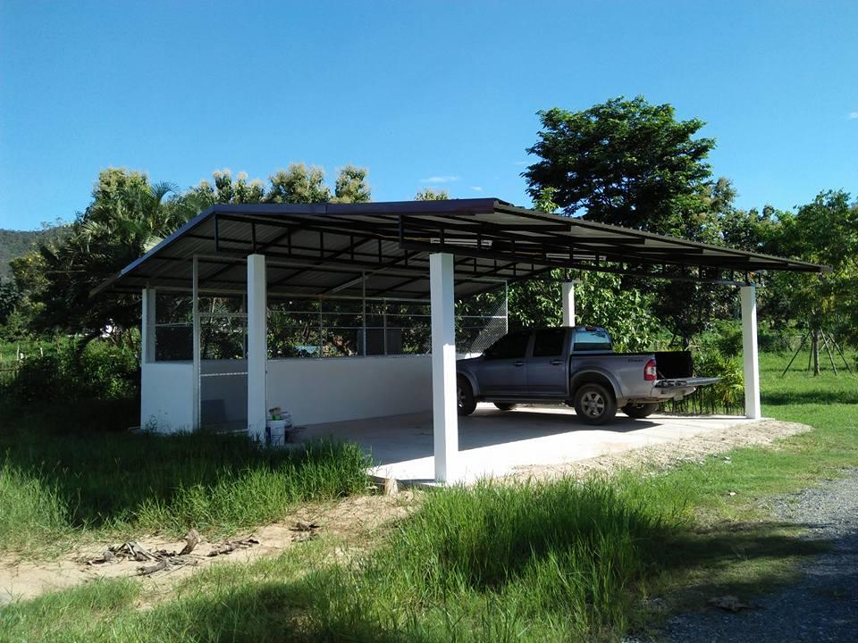 Baanpong House Build-car_port-jpg
