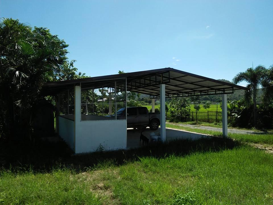 Baanpong House Build-car_port02-jpg