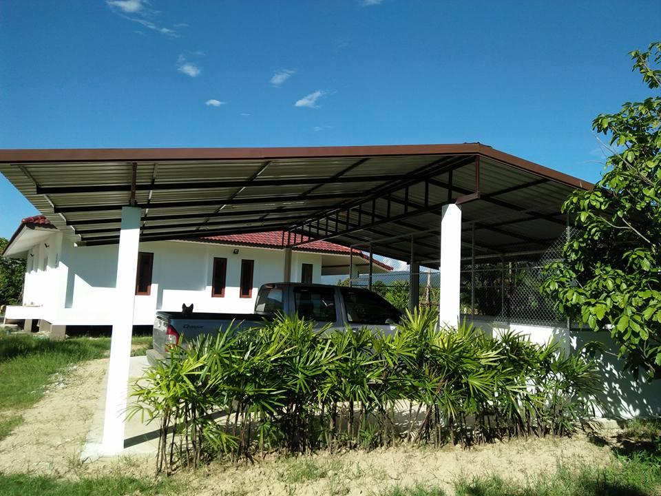 Baanpong House Build-car_port03-jpg