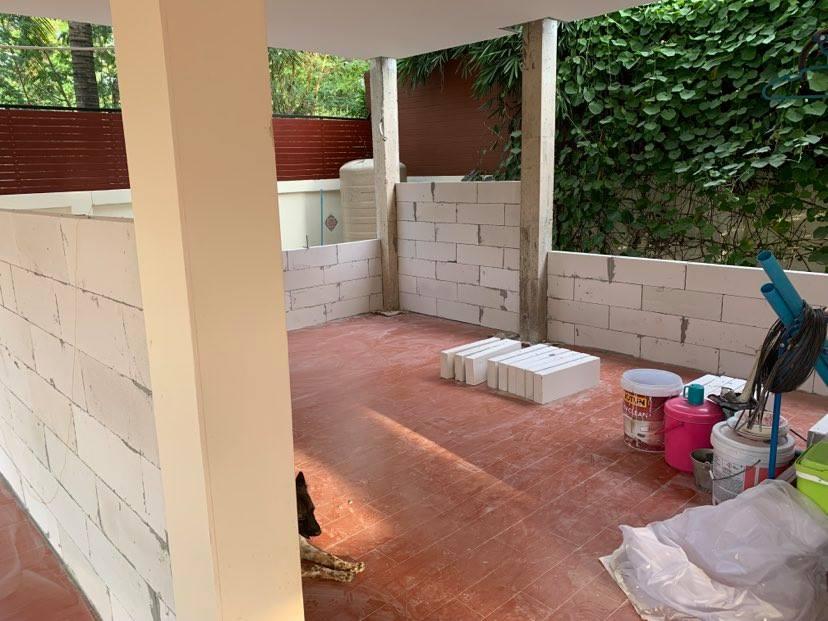 Adding a room downstairs-walls-half-way-up-jpg