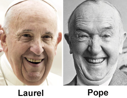 Amusing Pictures ripped from the Net-pope-laurel-jpg