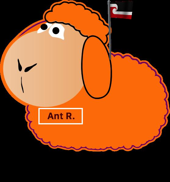 Teakdoor members as dogs-orange-sheep-png
