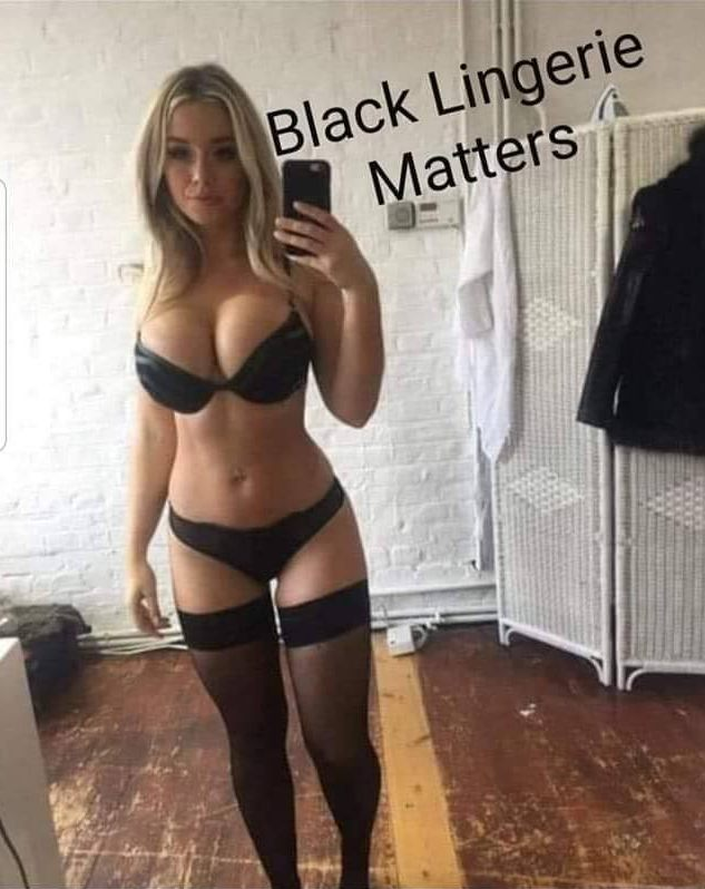 Amusing Pictures ripped from the Net-black-lingerie-matters-jpg