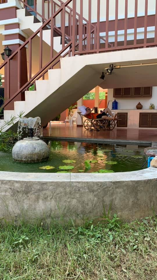 Building a small koi pond waterfall.-reading-room-jpg