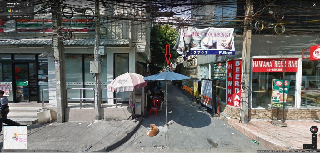 Secret bars in Bangkok-havana-streetview-jpg