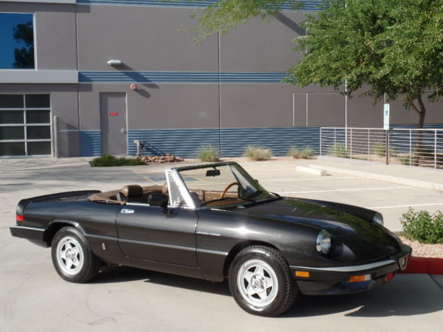 Fiat Chrysler submits proposal for a merger with Renault-1984-alfa-romeo-spider-veloce-36k