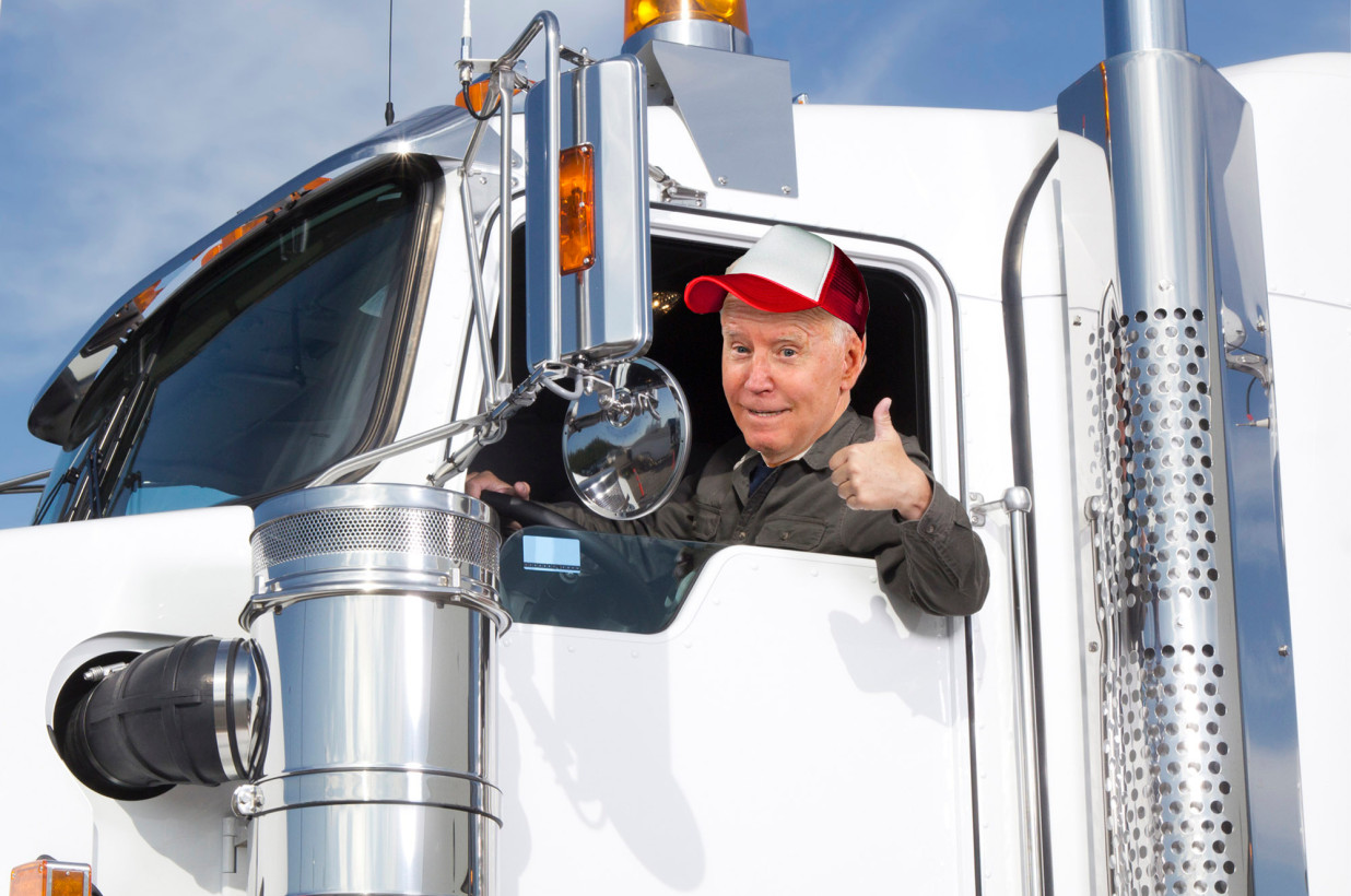 Collective Motoring Knowledge-biden-trucking-jpg