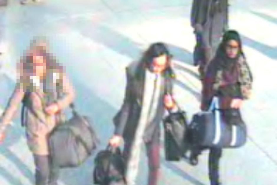 Oh, FFS ... UK schoolgirl who fled to join Islamic State 'wants to return home to Eng-6174296-3x2-940x627-jpg