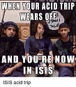 Oh, FFS ... UK schoolgirl who fled to join Islamic State 'wants to return home to Eng-when-your-acid-trip-wears-off