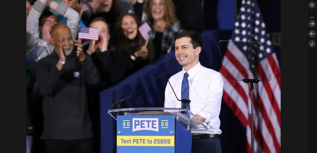2020 US Presidential Race-pete-buttigieg-launches-2020-presidential-run