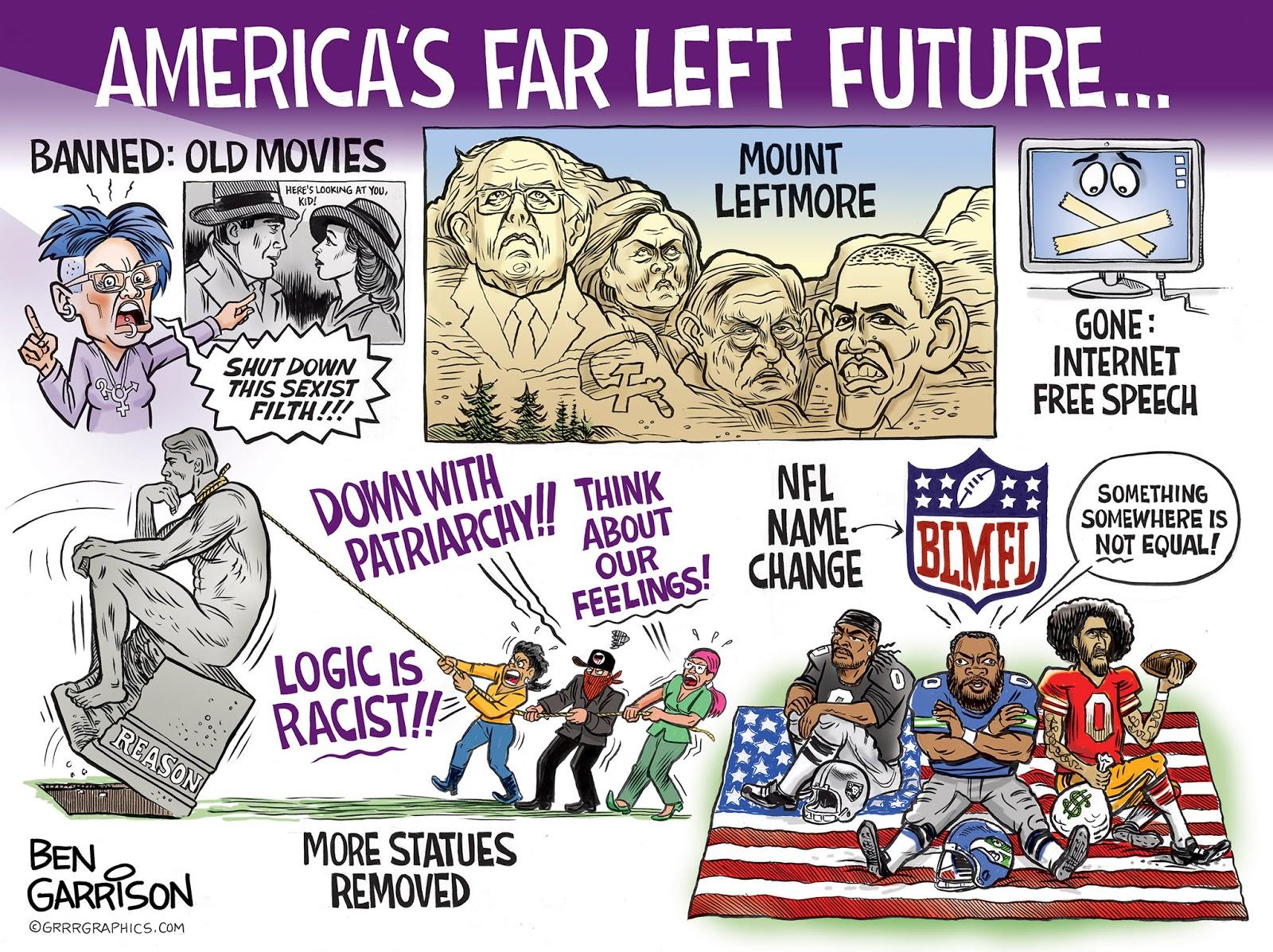 Political cartoons - the 'funny' pics thread.-far_left_loonies_ben_garrison-jpg