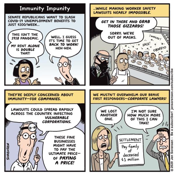 Political cartoons - the 'funny' pics thread.-sorensen-corpimmunity915-600x600-png