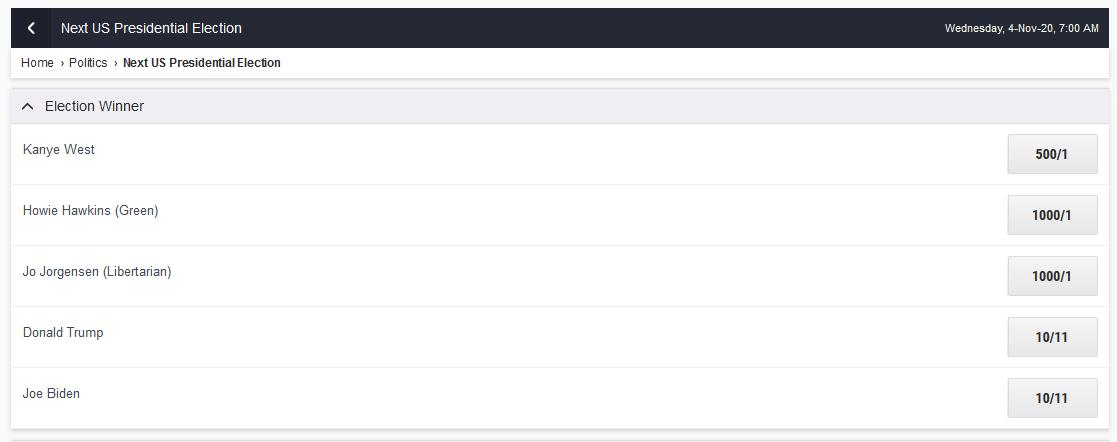 2020 US Presidential Race-screenshot_2020-09-03-ladbrokes-sports-betting