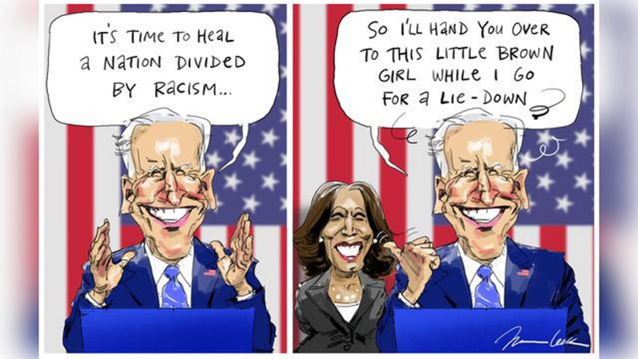 2020 US Presidential Race-little-brown-girl-australian-biden-harris