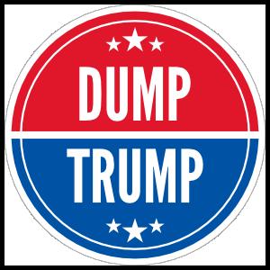 President Donald Trump-dump-trump-sticker-32627-300x300-png
