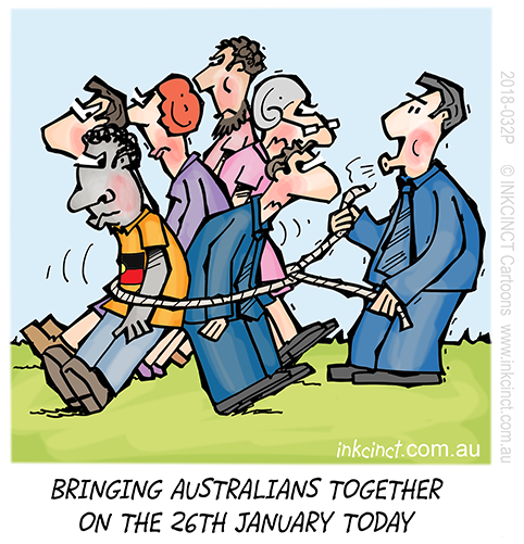 Australia Day? Invasion Day? Survival Day or just 26 January?-2018-032p-drawing-australians-together-australia