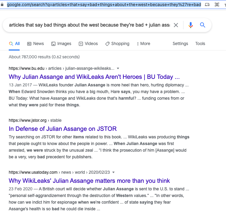 Julian Assange, on the Cross-screenshot-2021-06-24-7-22-a