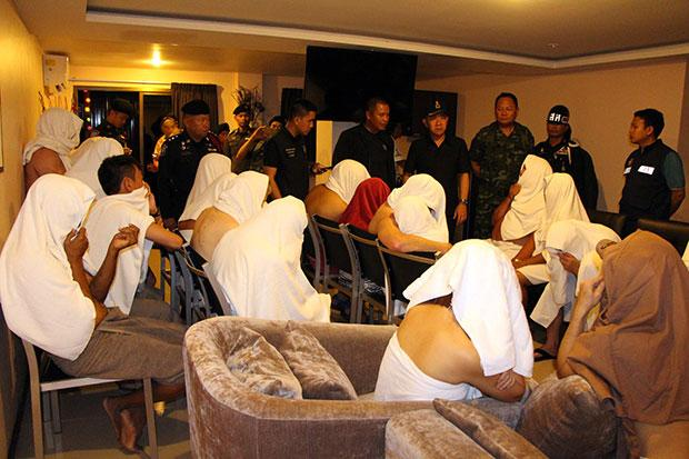"""25 rounded up at Pattaya hotel's """"swinging party""""-z8888888888888888888888-jpg"""