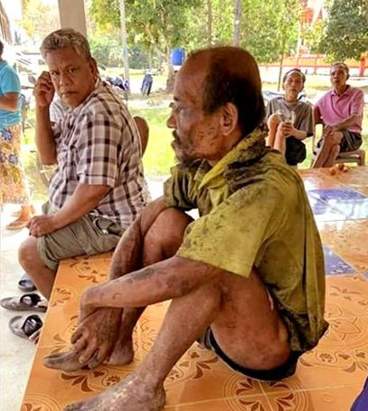 Man walks into his own funeral in southern Thailand-trained-jpg