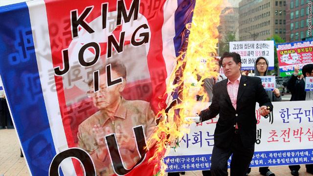 US monitoring intelligence that North Korean leader is in grave danger after surgery-t1larg-protests-afp-gi-jpg