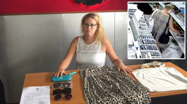 Aussie Woman Arrested For Shoplifting in Chiang Mai-1-188-jpg
