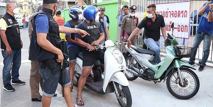 Pattaya Motorcycle Taxi Driver Shot in the Head – Murdered in Broad Daylight-screen-shot-2020-07-31-14-a