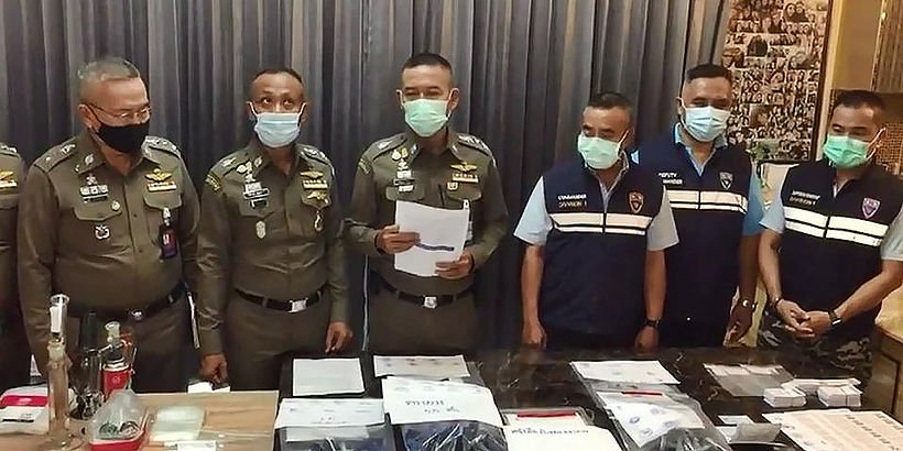 Immigration police nab American, Thai wife for visa forgery, cannabis-1-1-jpg