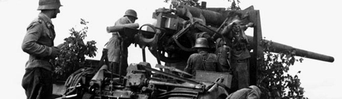 North Korea Sends Anti-Aircraft Units to Chinese Border to Stop Illegal Border Crosse-wwii-weapons-german-88mm-gun4-1200x350
