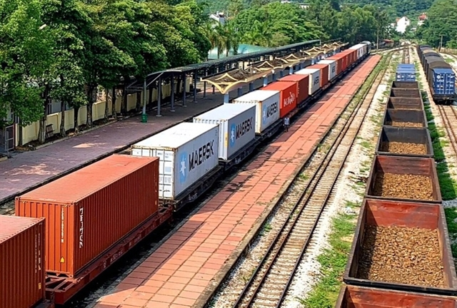 Vietnam Railways has launched the first freight train service to Belgium.-164754_container-jpg